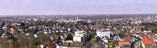 Webcam Foto (Ausschnitt), towercam.uni-paderborn.de, 09.04.2015 14:00:25 (Foto: Universität Paderborn, Thomas Thissen)