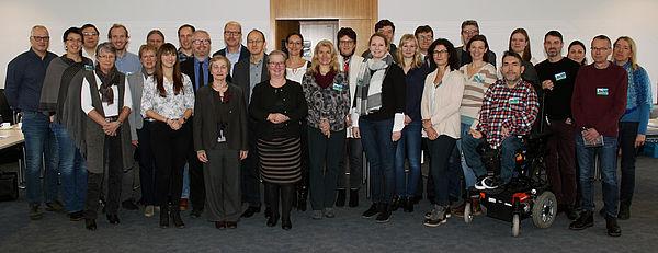 """Foto (Heiko Appelbaum): Die Projektbeteiligten haben """"mein beneFIT@upb.de"""" erfolgreich abgeschlossen."""