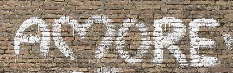 ...gefunden in den Straßen Roms...