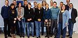 Foto (Universität Paderborn, Christof Gockel): v. li.: Thomas Rudsinske (HLA Hameln), Katharina Löwenstein, Christian Stricker (HLA Hameln), Carolin Niemeyer, Jan-Harald Gonschewski, Marie-Ann Kückmann, Marcel Fortmann (Universität Paderborn), Ingrid