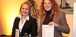 Foto (v. li.): Angela Bergner und Ina Kukuk erhielten auf der Internationaler Tourismus Börse (ITB) in Berlin den Wissenschaftspreis 2007