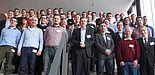 Foto (Universität Paderborn): Die Teilnehmenden der Veranstaltung im neuen Gebäude Q der Universität Paderborn.