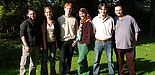 Foto: Der neue AStA 2005/2006 (v. l. n. r.): Katja Fuchte, Eva Lindhorst, Jan Rieke, Fazilet Colak, Marco Ehinger, Konstantinos Lazaridis
