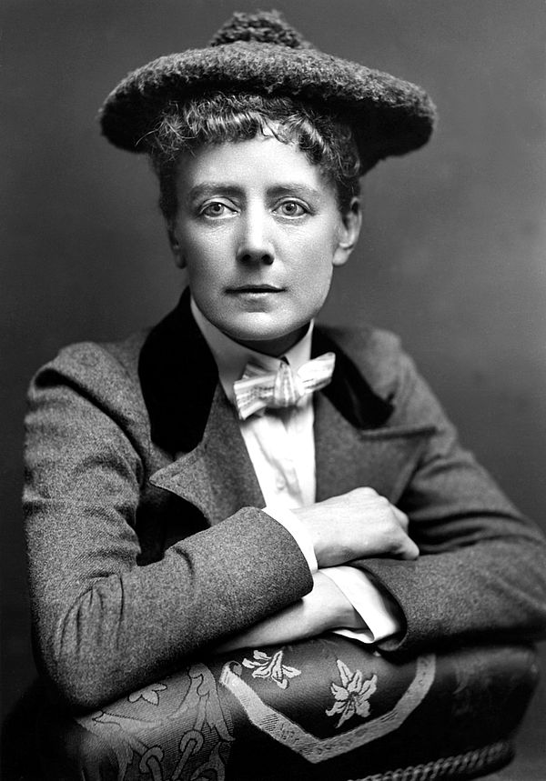 Foto (Quellennachweis: Hulton Archive, getty images): Dame Ethel Mary Smyth (1858-1944)