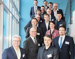 Foto (Universität Paderborn, Johannes Pauly): Die KitkAdd-Forschergruppe traf sich zum Projektstart in Paderborn.