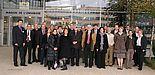 """Foto: Teilnehmer des ersten französisch-deutschen Workshops """"Molecular Chemistry and Functional Materials"""". Initiatoren des Treffens waren Prof. Dr. Dirk Kuckling Dirk Kuckling (li.), Universität Paderborn, und Prof. Dr. Gilles Dujardin (2. v. li.)"""