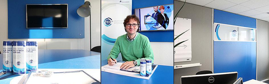TecUP Imagebild Setup, Prof. Dr. Rüdiger Kabst - TecUP, TecUP Arbeitsplatz