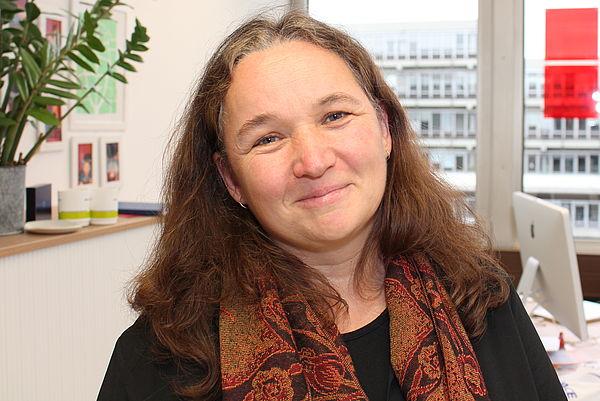 Foto (Universität Paderborn, Johannes Pauly): Prof. Dr. Susanne Prediger war eine der Hauptrednerinnen bei der großen Mathematiktagung an der Universität Paderborn.