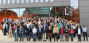 "Foto (Universität Paderborn, Johannes Pauly): Die Teilnehmer der ""18. French-German-Italian Conference on Optimization"" an der Universität Paderborn."