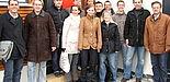 Foto (Tonia Zahn): Die Teilnehmerinnen und Teilnehmer des Business Update 2008 mit Vertretern der Veranstalter.