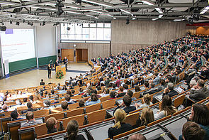 Foto (Universität Paderborn, Johannes Pauly): Auditorium maximum