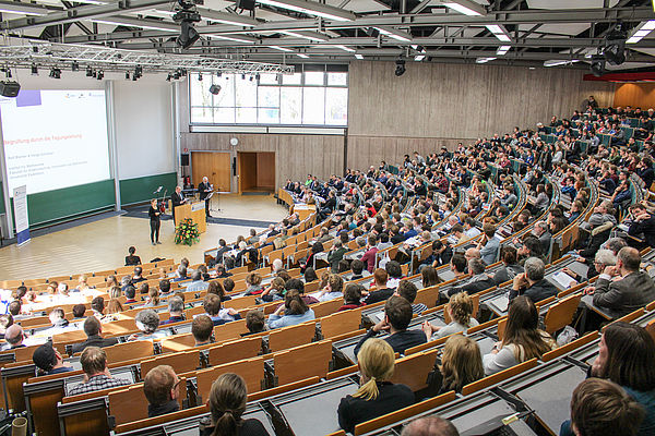 Foto (Universität Paderborn, Johannes Pauly): Auditorium maximum