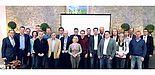 Foto (Universität Paderborn): Die Verler Unternehmerschaft zu Gast in der Universität Paderborn