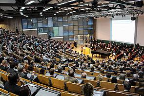 Foto (Universität Paderborn, Johannes Pauly): Auditorium maximum.