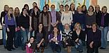 Mentees und Mentorinnen des ersten Durchgangs bei der Auftaktveranstaltung zusammen mit Projektleiterin Prof. Dr. Ingrid Scharlau und Projektkoordinatorin Julia Steinhausen.