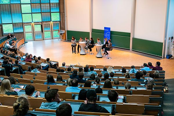 Foto (Universität Paderborn, Julius Erdmann): Europadebatte