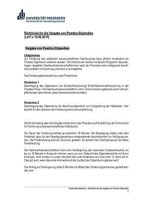 Abbildung: Richtlinien
