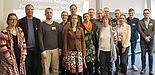 Foto: Tagungsleitung mit Referentinnen und Referenten