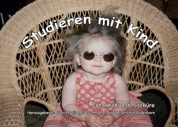 """Informationsbroschüre """"Studieren mit Kind"""""""