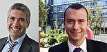 Foto (Universität Paderborn): Professor Dr. Daniel Quevedo (l.) und Professor Dr. Mathias Hatterman (r.)