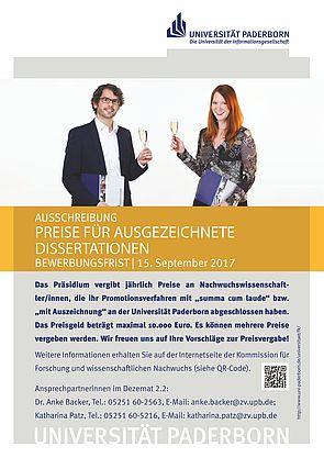 Abbildung: Ausschreibung Dissertationspreis