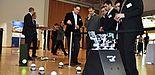 Foto: Schwarm kooperierender Roboter (Fachausstellung, 6. Paderborner Workshop)