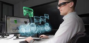 Technologien für die Entwicklung von intelligenten technischen Systemen wie Augmented Reality stehen auf dem Programm des Wissenschaftsforums. (© Fraunhofer IEM)