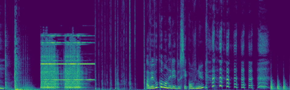 Spectrogram of acoustic scene