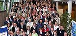 Foto (v. li.): Marc Schwieger, Managing Director Scholz & Friends, Dr. Andreas Archut, Vorsitzender der Arbeitsgemeinschaft, Prof. Dr. Andreas Pinkwart, Innovationsminister von Nordrhein-Westfalen, Prof. Dr. Erhard Mielenhausen, Vizepräsident der Hochs