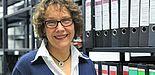 Foto (Universität Paderborn, Vanessa Dreibrodt): Dr. Anikó Szabó, Leiterin des Universitätsarchivs Paderborn.