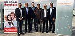 Foto: Die Referenten des Symposiums 2017 (v. l.): Prof. Dr. K.-M. Braumann, Prof. Dr. H. Hesker, PD Dr. W. Krutsch, I. Teich M.A., Dr. V. Scheer, Prof. Dr. C. Reinsberger.