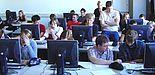 Schülerinnen und Schüler lösten knifflige Aufgaben beim Schüler-Kryptotag an der Universität Paderborn