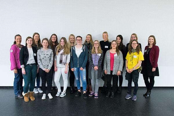 Foto (Universität Paderborn): Teilnehmerinnen des Mentoring-Programms.