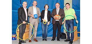 Foto (Universität Paderborn, Alena Gold): Gruppenbild