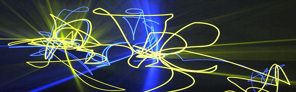 Laserprojektionen im HNF