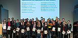 Foto (Stiftung Studienfonds OWL, Martin Brockhoff): Stipendiaten-Förderer-Treffen 2013