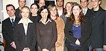 Foto (Christiane Bernert): Das Team des AStA 2006/2007 (v.li.): Mario Härtel, Presse und Internet; Christian Hachmann, stellv. AStA-Vorsitzender, Hochschulpolitik; Peggy Hecker, Fachschaften und Aktive; Barbara Dittert, Controlling; Henrik Kiepe, Control