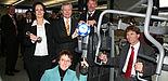 Foto (Heiko Appelbaum): Gemeinsam für die Gesundheit (v. l.): Sandra Bischof, Dezernentin Dr. Martina Gerdes-Kühn, Prof. Dr. Norbert Klusen, Dieter Thiele und Prof. Dr. Nikolaus Risch