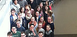 """Foto (Universität Paderborn, Pleger): Teilnehmer des 8. Schülerworkshops """"Computertomographie und Mathematik""""."""