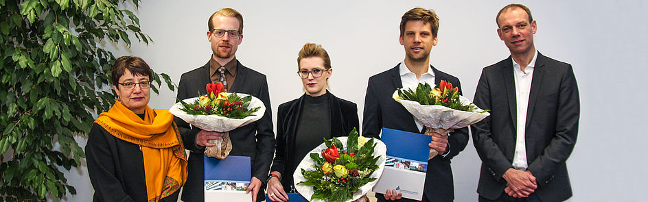 Dissertationspreisträgerinnen und Preisträger 2018