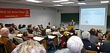 Abbildung: Visionär vor vollem Saal: Prof. Dr. Niko Paech