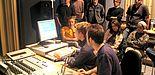 Foto: Popstudenten im Studio