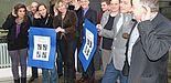 """Foto (Universität Paderborn, Martin Decking): V. l.: Freude sich über die erfolgreiche Kooperation """"Offenes Ohr"""""""