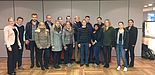 Foto (Universität Paderborn): Paderborner Studierende besichtigten Miele in Gütersloh.