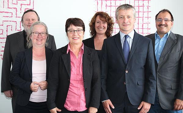 Foto (Universität Paderborn, Nina Reckendorf): Gruppenbild