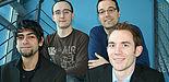 Foto (Universität Paderborn): Carlos Andre Galvao, Alexander Wilhelm, Prof. Dr. Dennis Kundisch, Sebastian Ringel (v. l.).