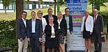 Foto (Amt für Presse- und Öffentlichkeitsarbeit, Kreis Paderborn): Organisatoren und Referenten der Konferenz für Vielfalt