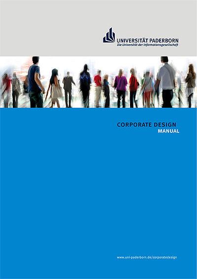Corporate Design-Handbuch, Titelseite