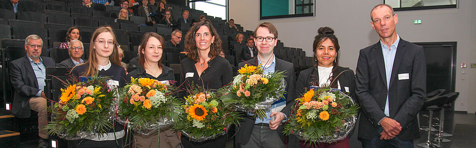 Urkundenverleihung Graduiertenförderung 2019 (Foto: Universität Paderborn, Jennifer Strube)