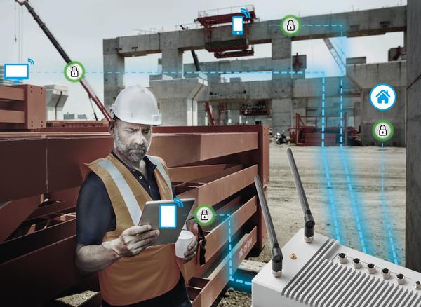 Foto (Janz Tec / Fraunhofer IEM): Sicherer Datenaustausch vor Ort und mit der Unternehmensszentrale: Das Fraunhofer IEM hat das Sicherheitskonzept der Server-Plattform OSIRIS auf Herz und Nieren geprüft.